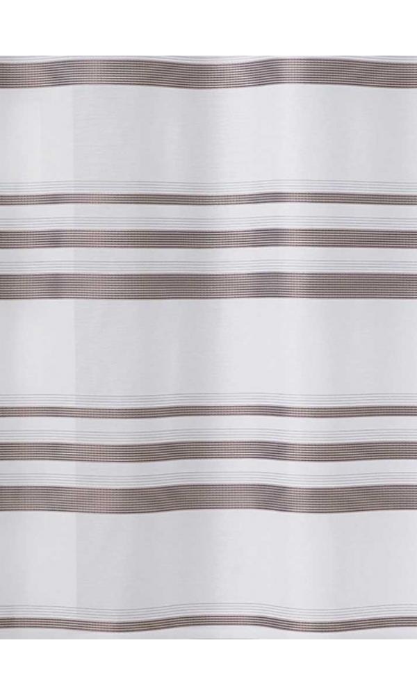 Tissu en Etamine à Rayures Horizontales