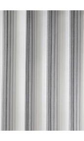 Tissu en Etamine à Rayures Verticales (Gris)