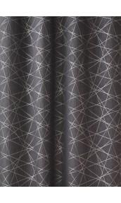 Tissu en Jacquard à Imprimés Design (Gris)