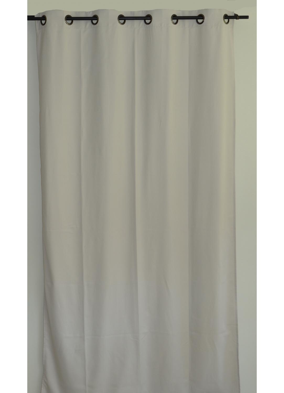 rideau uni en toile souple ignifug 233 m1 ficelle lie de vin outre mer noir bordeaux
