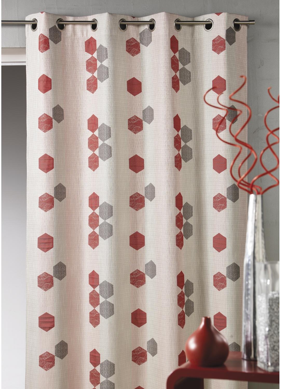 rideaux a motifs design tous les objets de d coration sur elle maison. Black Bedroom Furniture Sets. Home Design Ideas