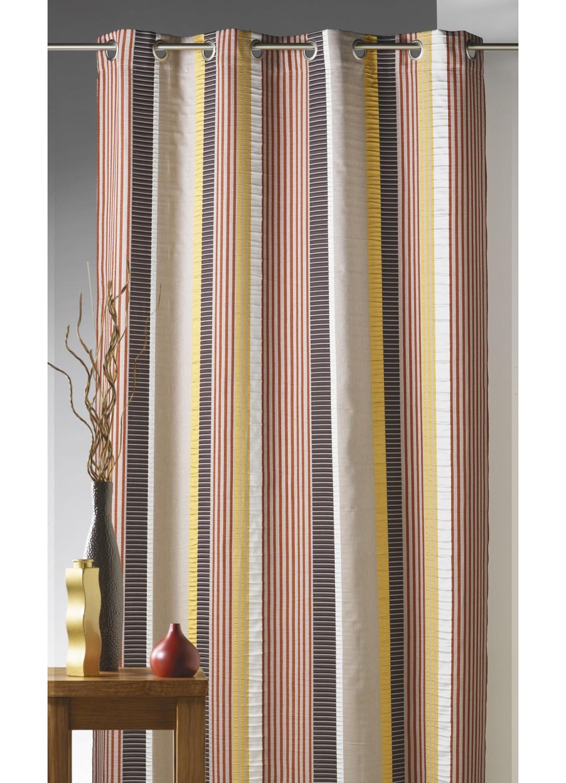 rideaux rayures design tous les objets de d coration sur elle maison. Black Bedroom Furniture Sets. Home Design Ideas