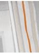 Store voilage fantaisie à rayures horizontales fluo  Orange