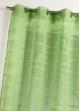 Voilage en étamine à imprimés géométriques orchidée   Bambou
