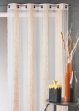Voilage en jacquard à fines rayures verticales  Mandarine