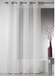 Voilage Design en Etamine à Rayures Verticales  Rose Boudoir