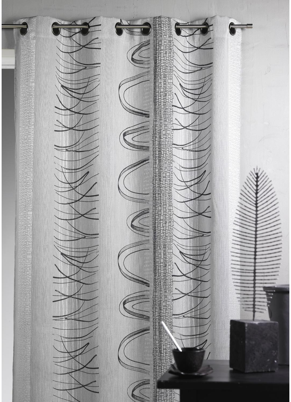 rideau contemporain. Black Bedroom Furniture Sets. Home Design Ideas