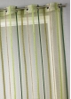 Voilage fantaisie à rayures verticales  Bambou