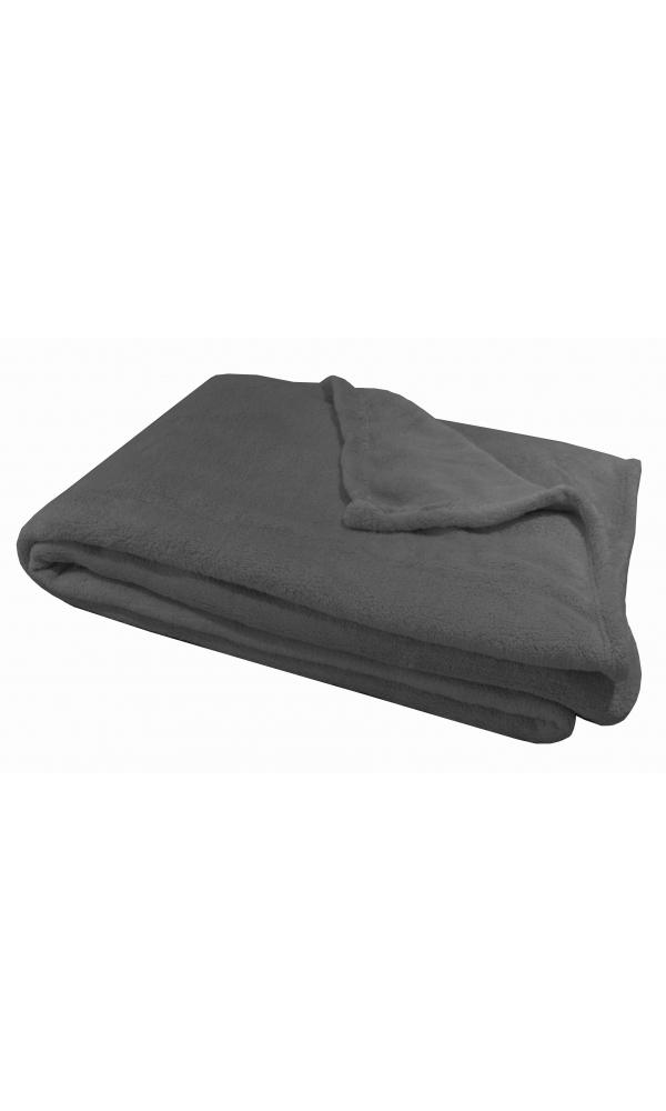plaid polaire douillet gris noir beige taupe homemaison vente en ligne. Black Bedroom Furniture Sets. Home Design Ideas