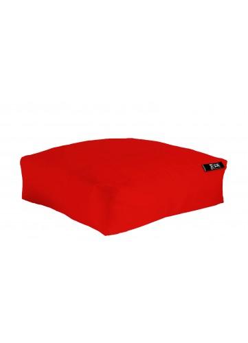 Coussin de sol XXL Outdoor en microbille (Rouge)