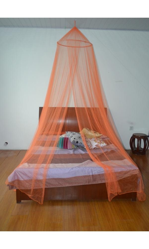 Moustiquaire ciel de lit - Orange - 60x250x1200 cm