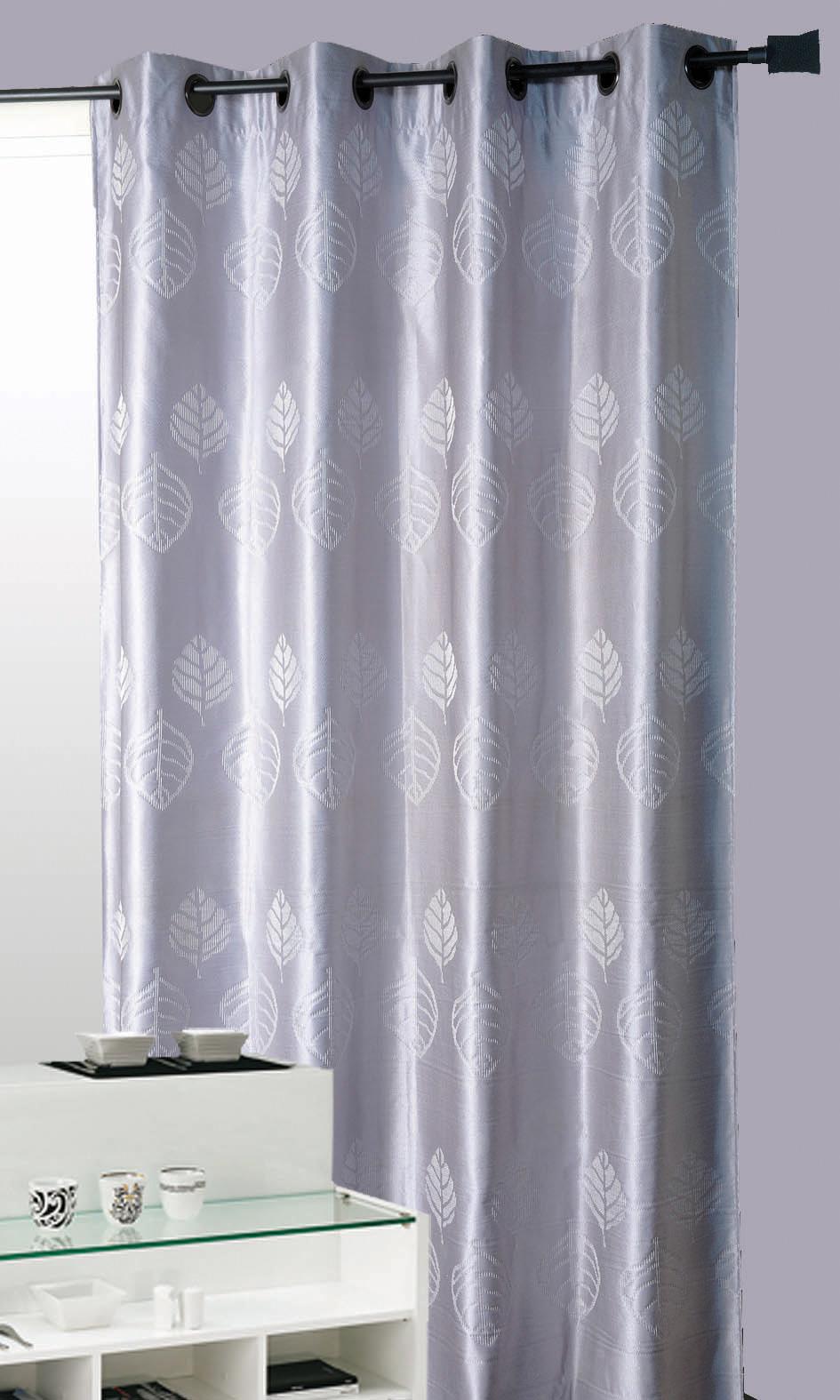 Cortina opium gris cortina casa venta en l nea de for Cortinas grises