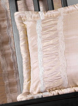 Coussin Ameublement Jacquard Chic (Lin)