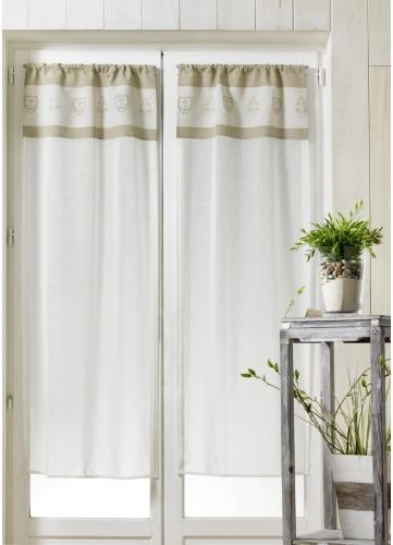voilages polyester tous les objets de d coration sur elle maison. Black Bedroom Furniture Sets. Home Design Ideas