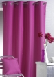 Rideau d'Ameublement Uni Outdoor   Fuchsia