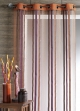 Voilage Organza Inspirations Lointaines  Terracota