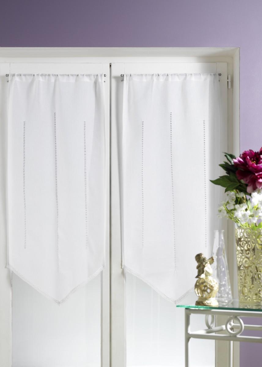 petits voilages dentelle ivoire homemaison vente en ligne petits voilages vitrages. Black Bedroom Furniture Sets. Home Design Ideas