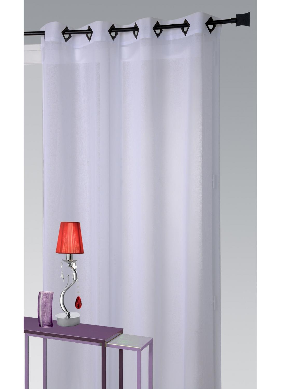 voilages bronze blanc tous les objets de d coration sur elle maison. Black Bedroom Furniture Sets. Home Design Ideas
