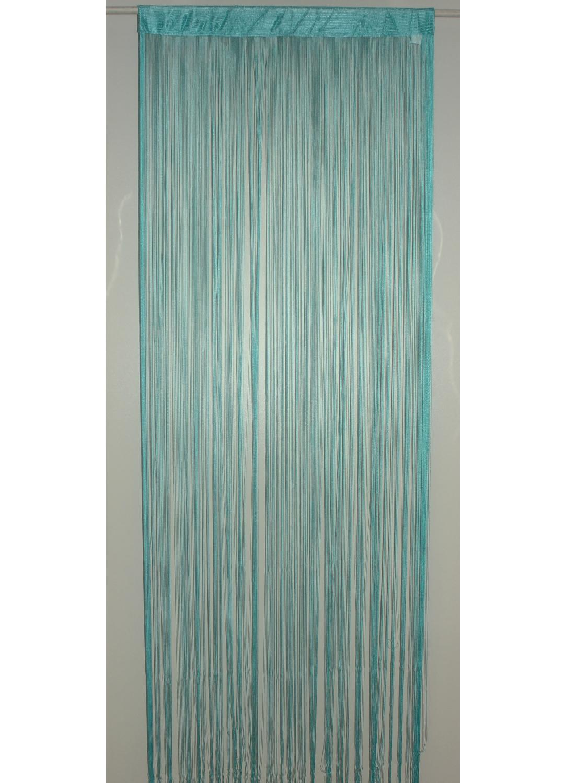 spaghetti fertigvorhang t rkis stroh schwarz weinrot beige anis rote. Black Bedroom Furniture Sets. Home Design Ideas