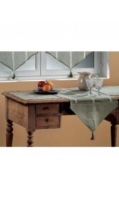 2 Sets de table en Etamine Brodée 'esprit de famille'