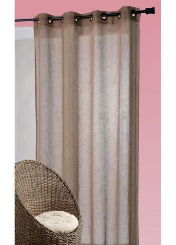 voilages lins chocos vente en ligne de voilages lins chocos. Black Bedroom Furniture Sets. Home Design Ideas