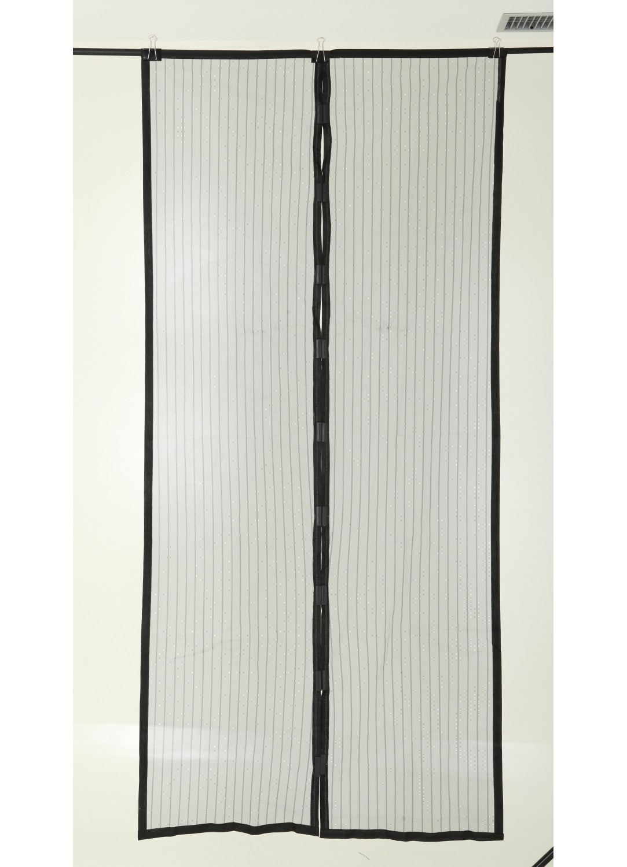 rideau magn tique anti moustiques noir homemaison vente en ligne moustiquaires. Black Bedroom Furniture Sets. Home Design Ideas