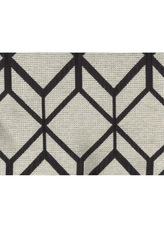 rideau motifs g om triques avec oeillets gris et noir gris et bleu gris et marron. Black Bedroom Furniture Sets. Home Design Ideas
