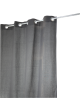Rideau Coton Uni 'Pipa'  Gris