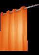 Rideau Coton Uni 'Pipa'  Orange