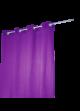 Rideau Coton Uni 'Pipa'  Violet