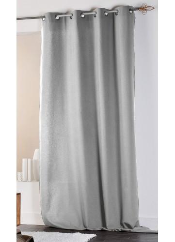 rideau en coton et lin uni xxl personnaliser sur. Black Bedroom Furniture Sets. Home Design Ideas