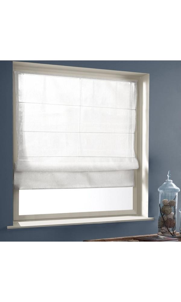 rideau 60x180 trendy fentre rideau blanc chic paulette collection x cm with rideau 60x180. Black Bedroom Furniture Sets. Home Design Ideas