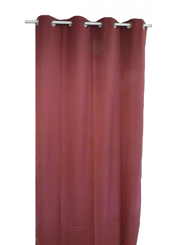 rideau uni en toile souple ignifug 233 m1 bordeaux outre mer noir beige anis