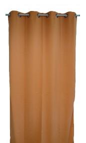 Cortina lisa en tela ligera Ignífuga M1