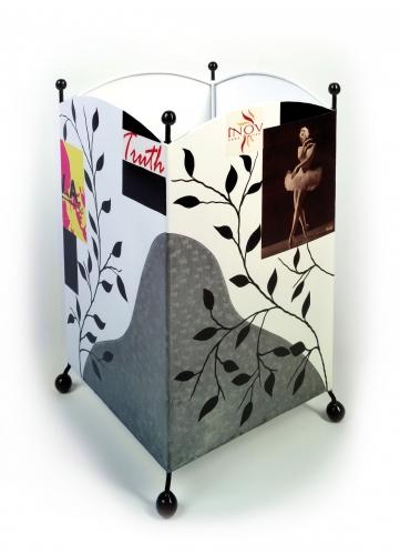 corbeille papier m tal homemaison vente en ligne rideaux voilages stores coussins. Black Bedroom Furniture Sets. Home Design Ideas