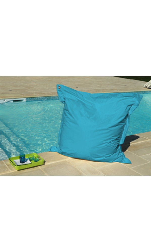 Big Coussin Turquoise avec Oeillet (Turquoise)