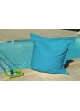 Big Coussin Turquoise avec Oeillet Turquoise