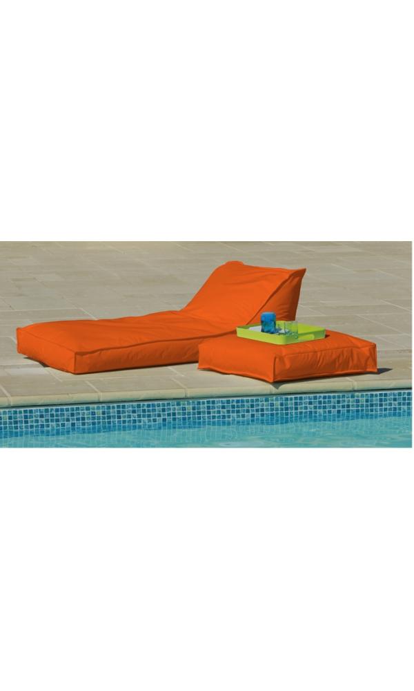 Matelas Bain de Soleil Orange (Orange)