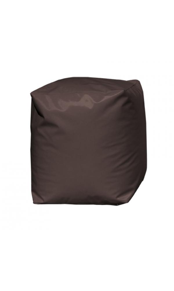 Pouf Cube Chocolat