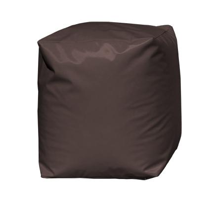 Pouf Cube Chocolat (Chocolat)