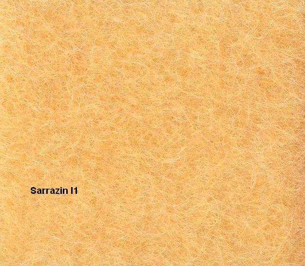 Couverture Pure Laine Vierge 600g/m2 bicolore - sarrazin - 240 x 260 cm