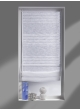 Store Bateau avec Rayures Horizontales Blanc