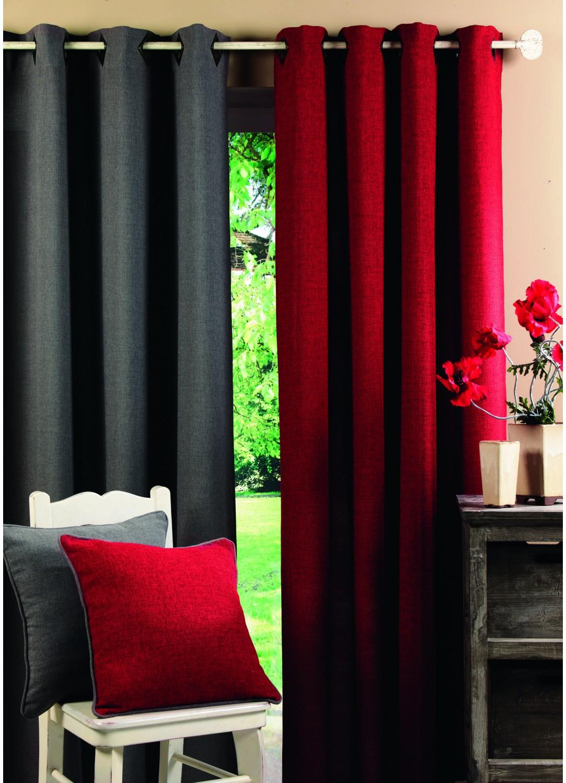 rideau taupe tous les objets de d coration sur elle maison. Black Bedroom Furniture Sets. Home Design Ideas