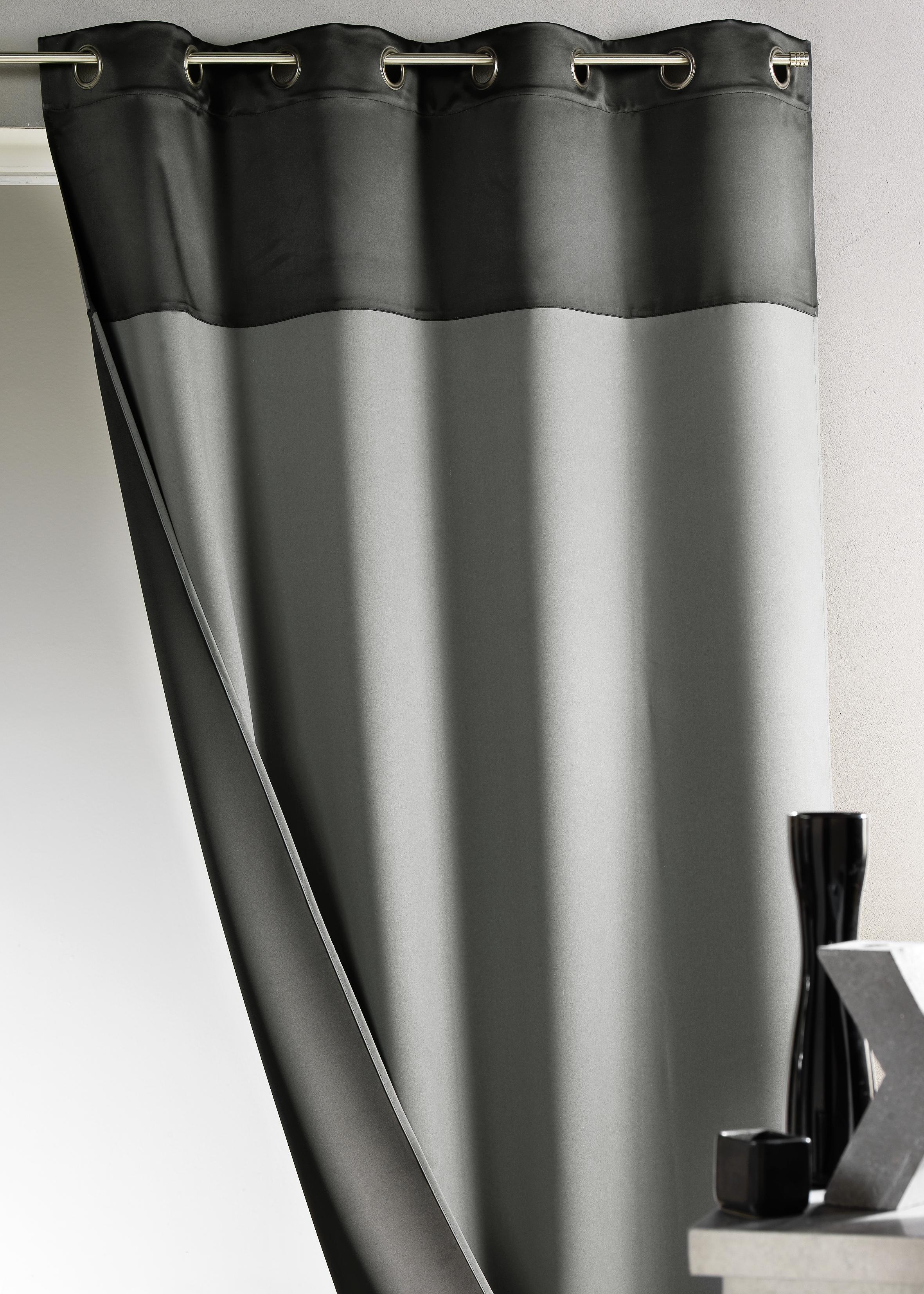 Exceptional Rideau Gris Et Noir #7: Stunning Quel Rideau Pour Salon ...