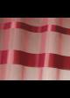 Store à remonter voilage à rayures horizontales  Bordeaux
