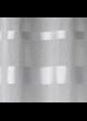 Store à remonter voilage à rayures horizontales  Gris