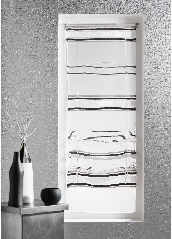 store remonter voilage en organza ray ivoire homemaison vente en ligne stores voilage. Black Bedroom Furniture Sets. Home Design Ideas