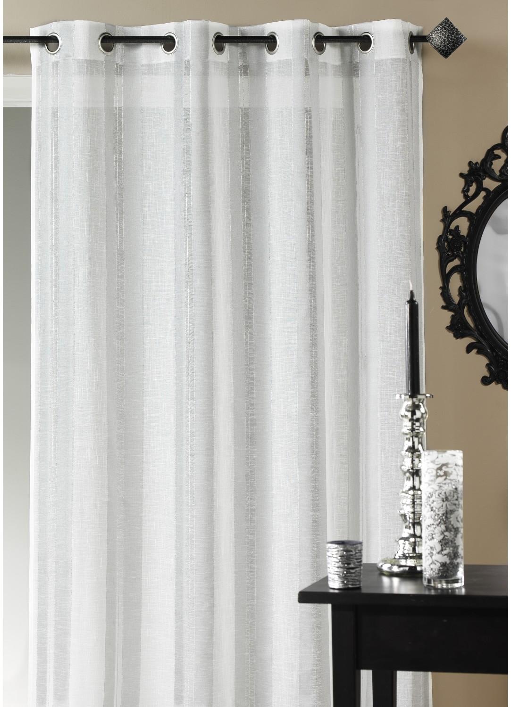 Visillo estame a fantas a hilos l rex blanco cortina for Cortina visillo blanco