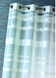 Voilage rayures horizontales  Blanc
