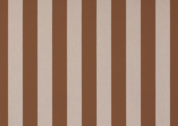 Toile de store banne Dickson rayures col marron